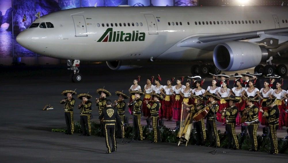 Espectacular recibimiento al Papa Francisco en México