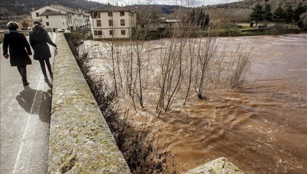 Alerta por fenómenos meteorológicos y riesgo de inundaciones en Castilla y León