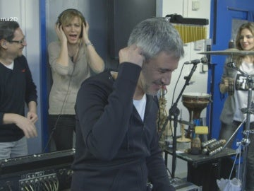 Sergio Dalma ensaya con su banda