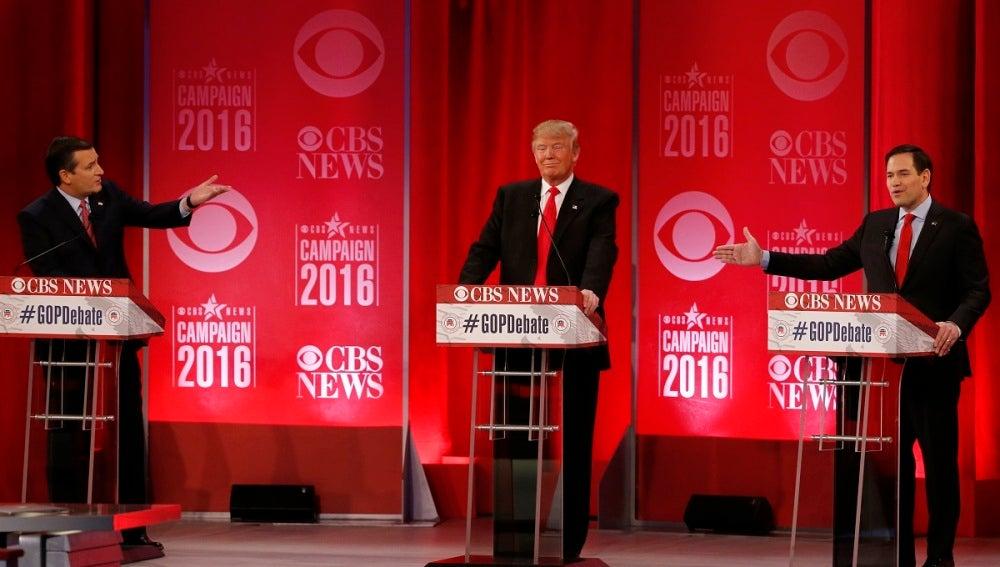 Debate de los candidatos republicanos en EEUU