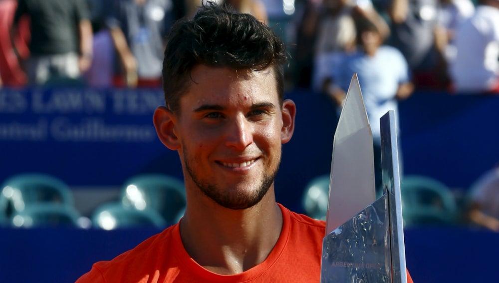 Thiem, con el trofeo de Buenos Aires