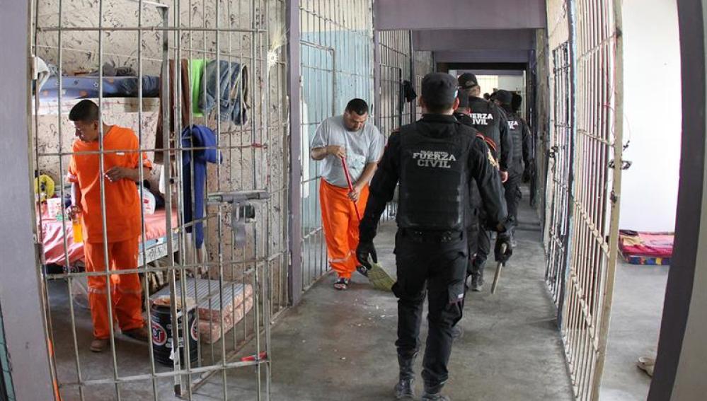 Prisión de Topo Chico, donde se produjo el motín que dejó cerca de 60 fallecidos