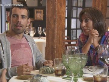 Alberto y José Ramón con la suegra
