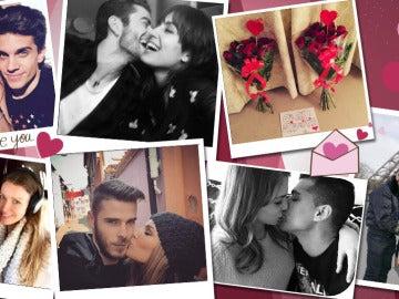 Las celebrities celebran San Valentín