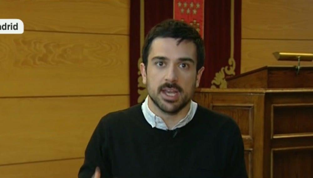 Ramón Espinar, de Podemos