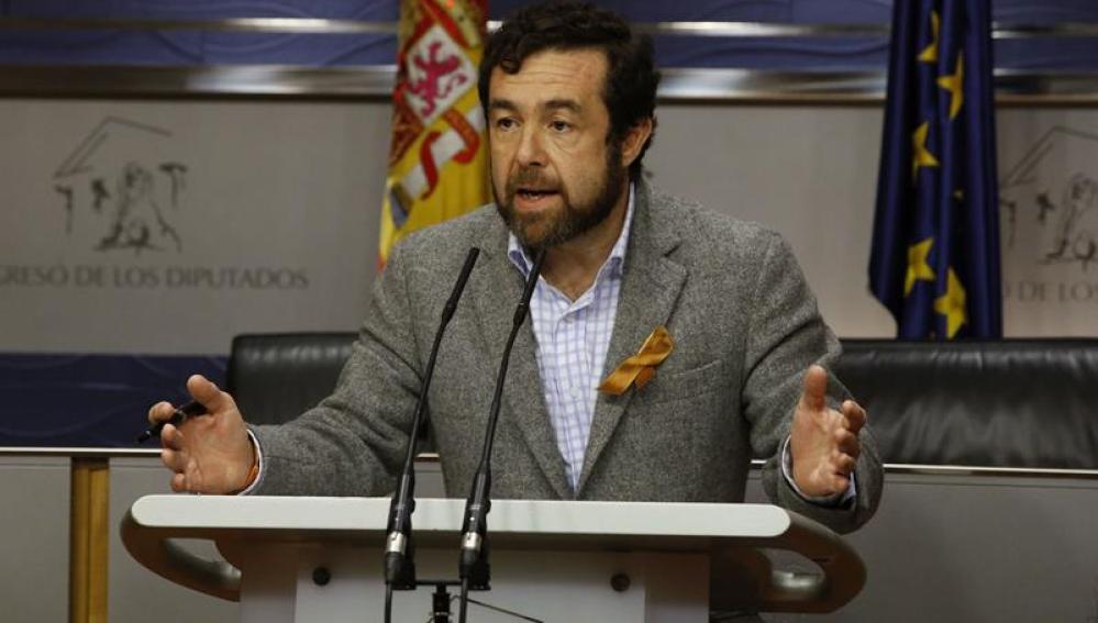 El secretario general de Ciudadanos en el Congreso de los Diputados, Miguel Gutiérrez