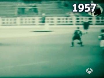 El primer penalti indirecto, en 1957