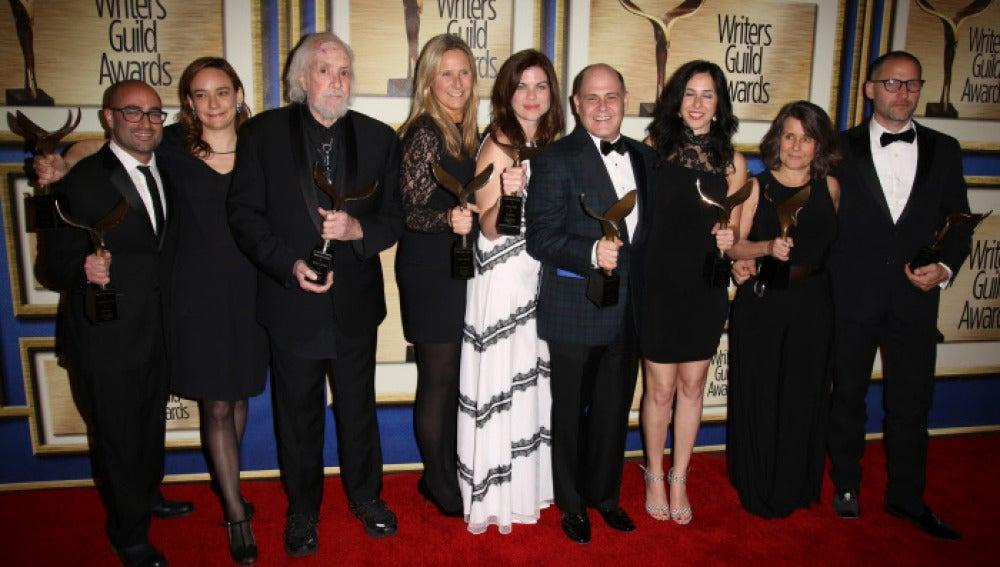 'Mad Men' recogió el premio Writers Guild Awards 2016