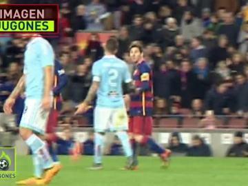 Hugo Mallo y Messi