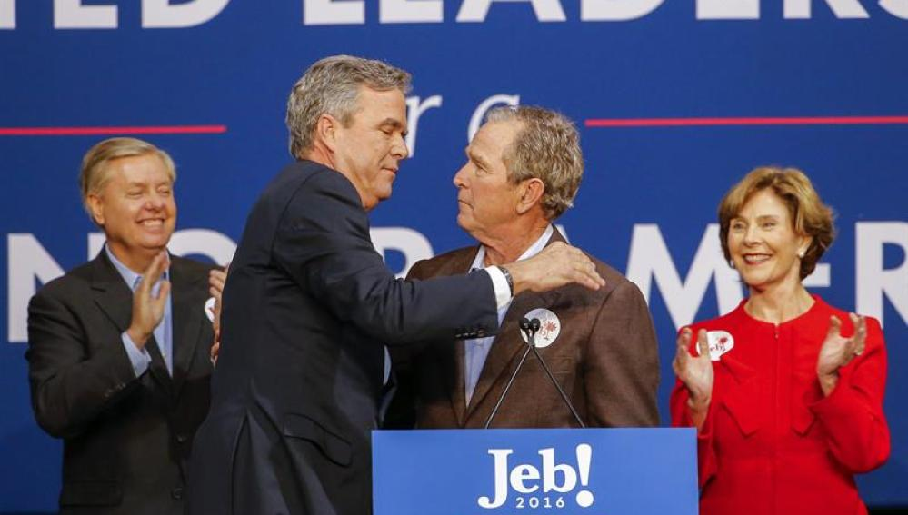 Campaña de Jeb Bush en North Charleston