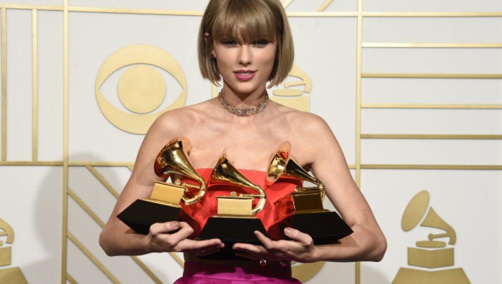 Taylor Swift en los Premios Grammy