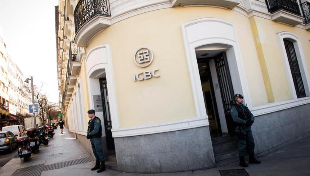 Sede de ICBC en Madrid