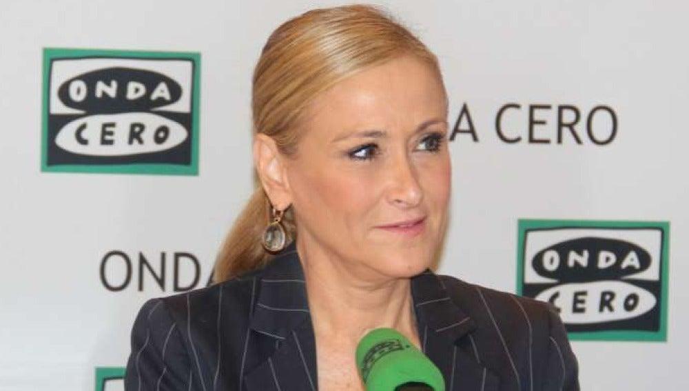 Cristina Cifuentes en Onda Cero