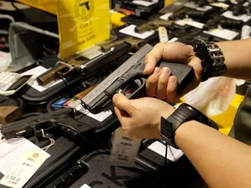 Imagen de armas de fuego en Estados Unidos