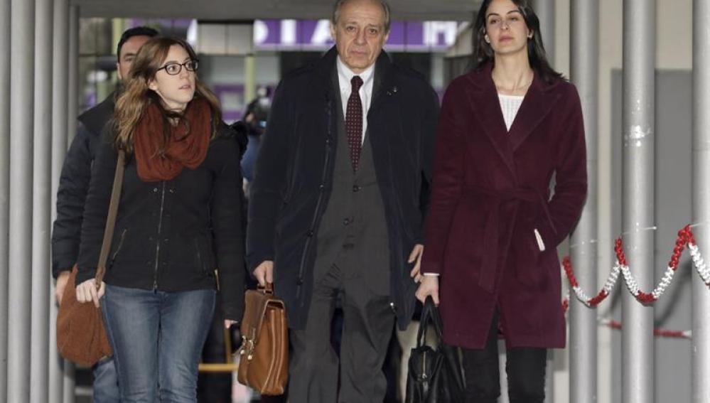 Rita Maestre a su llegada a los juzgados