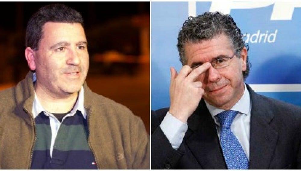 David Marjaliza y Francisco Grandados