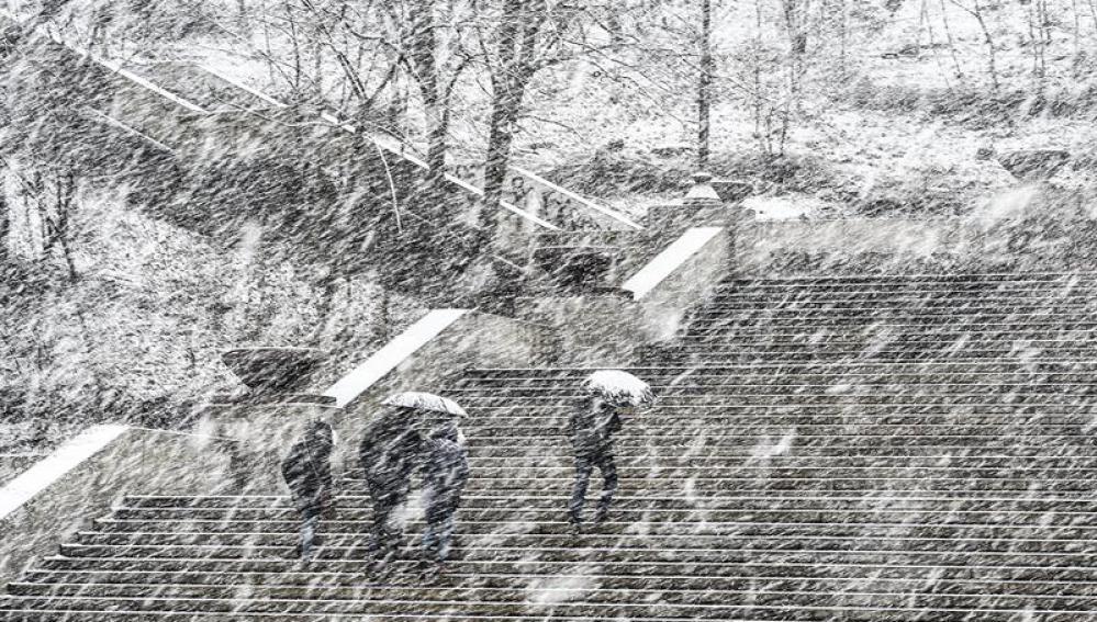 Gran tormenta de nieve