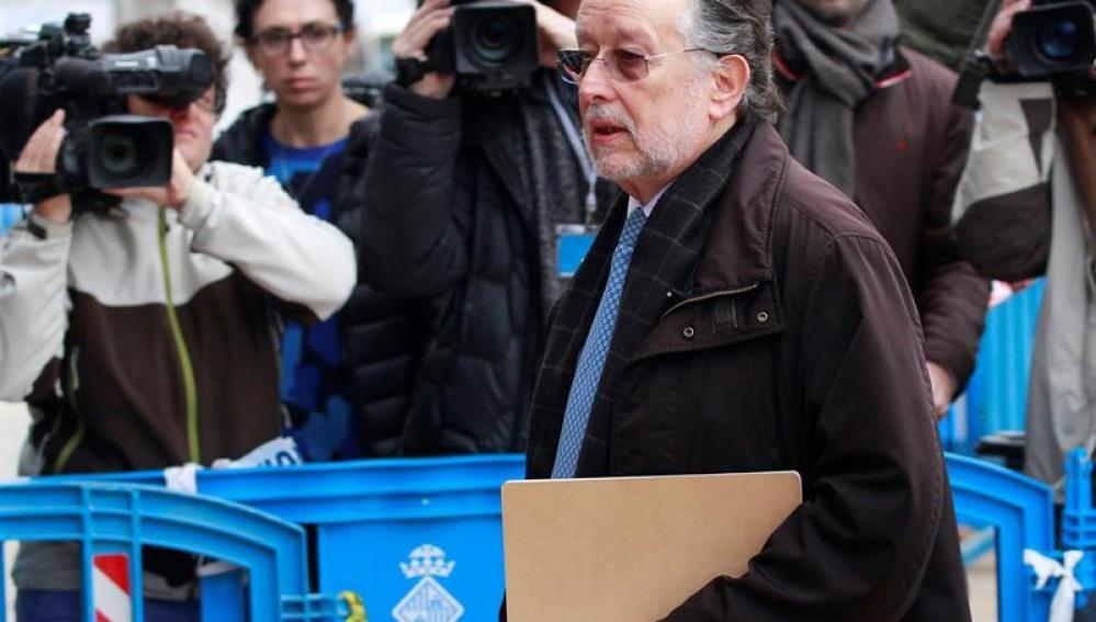 El exvicealcalde de Valencia Alfonso Grau