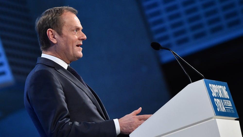 Antena 3 tv donald tusk reelegido presidente del for Presidente del consejo europeo