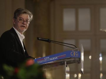 Pedro Santisteve durante el encuentro de Nueva Economía Fórum