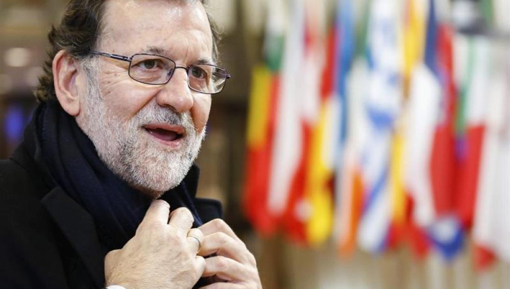 El presidente del Gobierno español en funciones, Mariano Rajoy