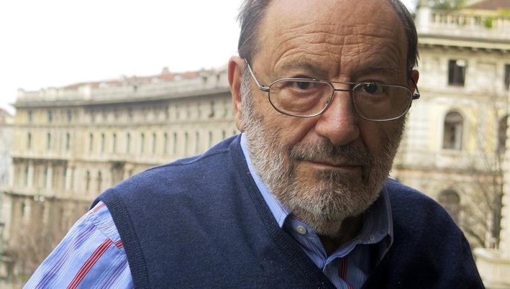 El escritor italiano Umberto Eco