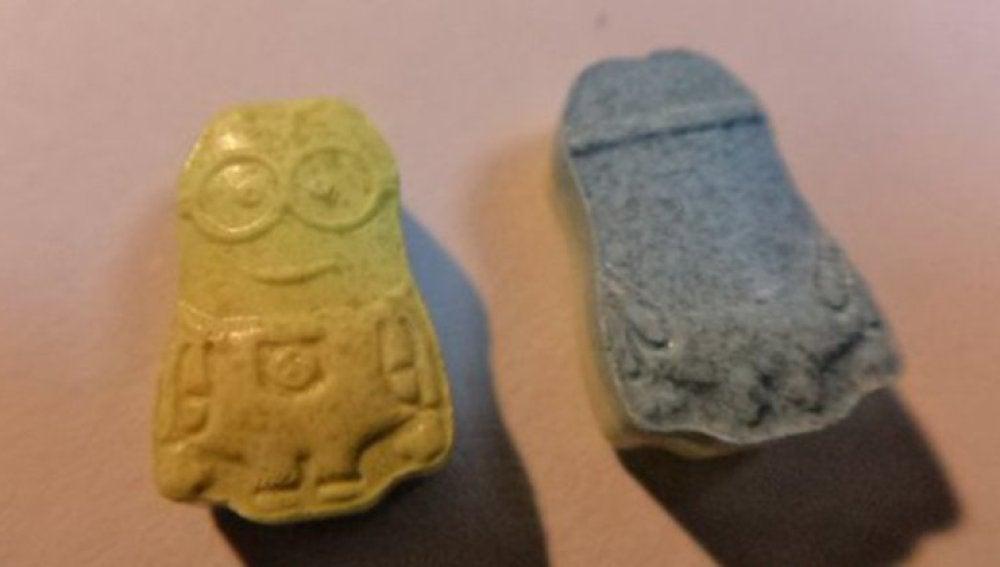 """La pastilla de éxtasis en forma de """"Minion"""""""
