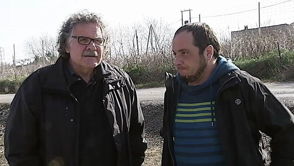 Joan Tardá y David Fernández