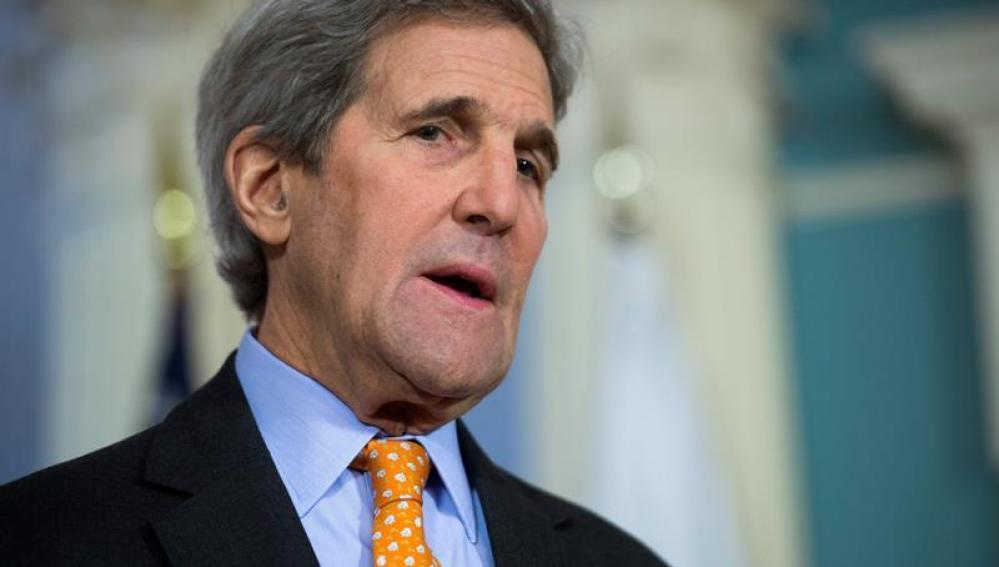 El secretario de Estado estadounidense John Kerry.