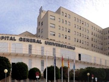 Imagen del Hospital General de Alicante