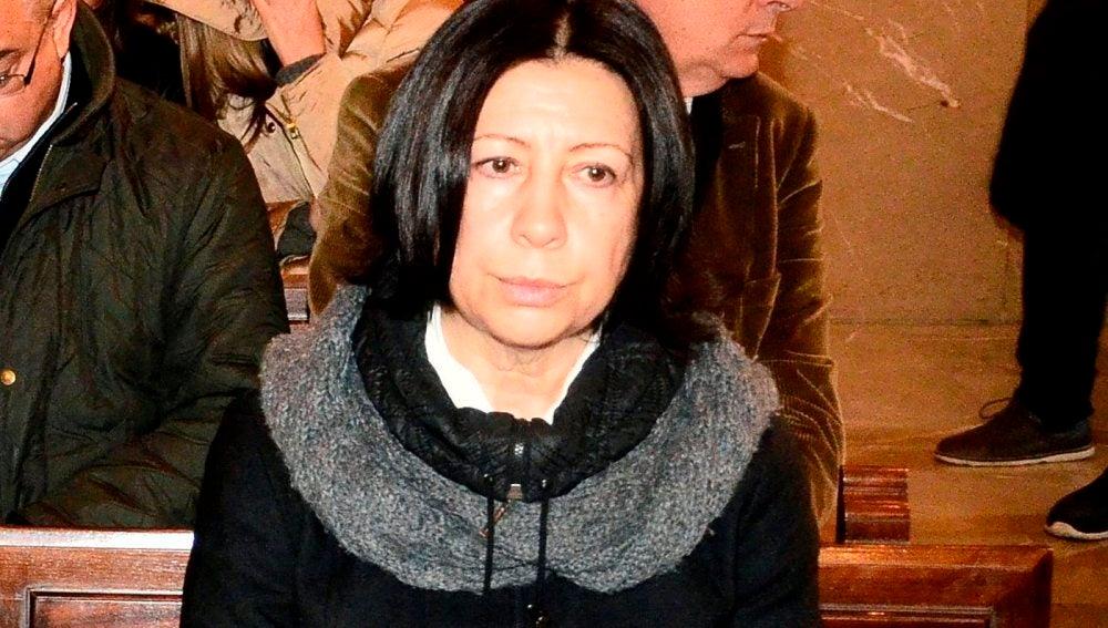 Maria Antònia Munar, sentada en el banquillo de los acusados