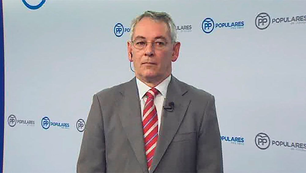 El presidente del PP en Vizacaya, Antón Damborenea
