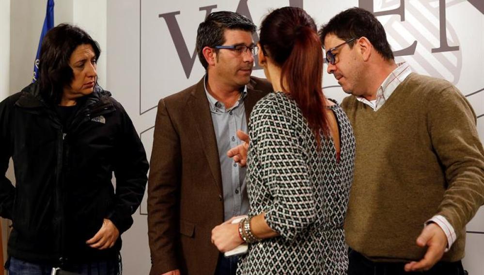 Vicepresidentes de Diputación Valencia, entre ellos Rosa Pérez