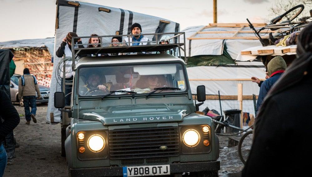 Refugiados en Calais