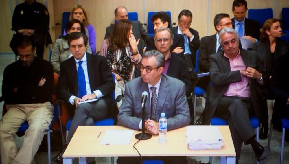 Diego Torres, durante el juicio