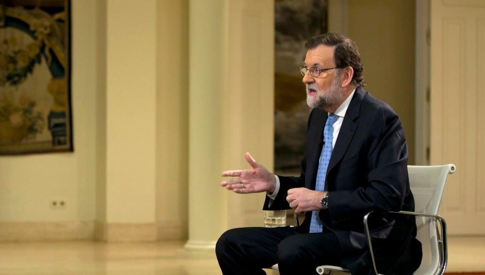 Entrevista a Mariano Rajoy en Espejo Público desde Moncloa