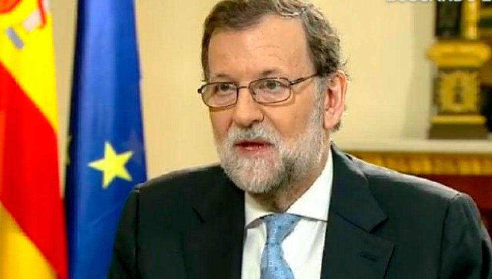 Mariano Rajoy, entrevistado en Espejo Público