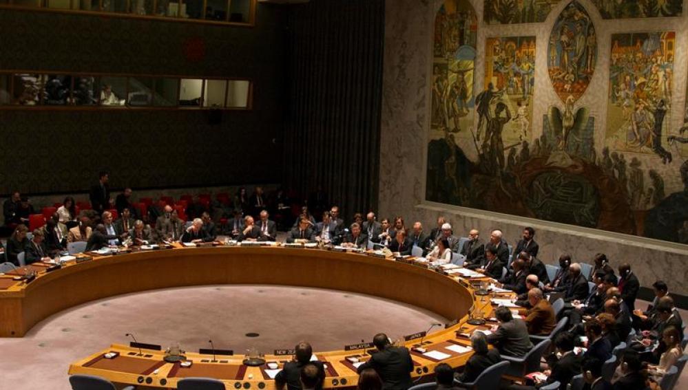 Una sesión del Consejo de Seguridad de la ONU
