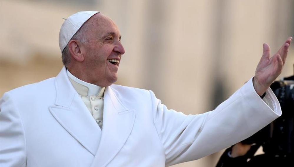 El Papa Francisco, este miércoles en el Vaticano