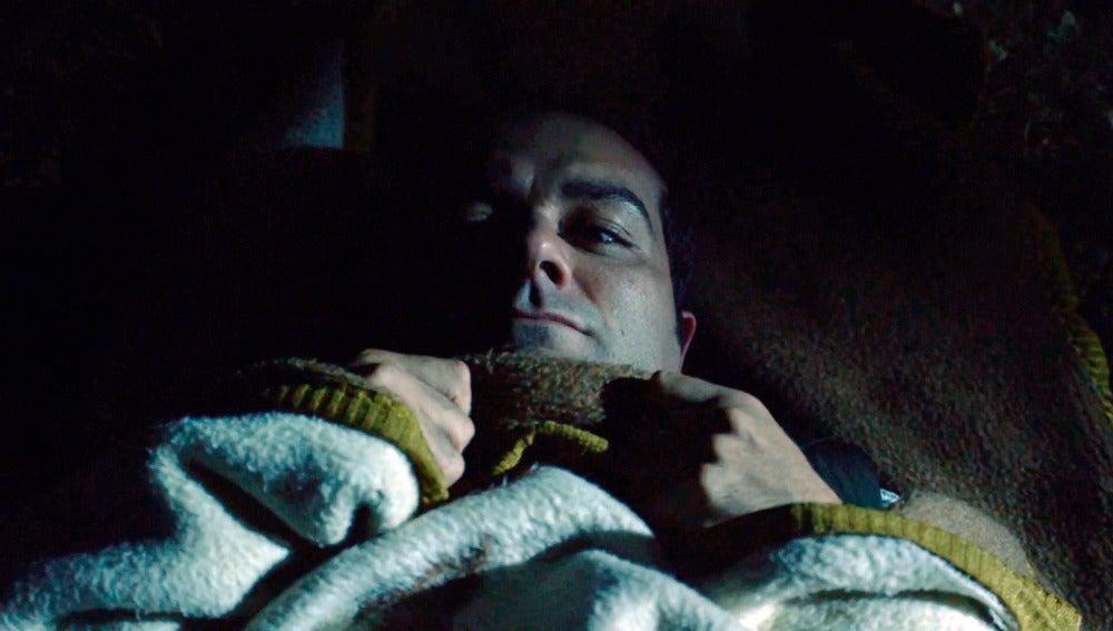 Rober está 'acojonao' durmiendo a la intemperie