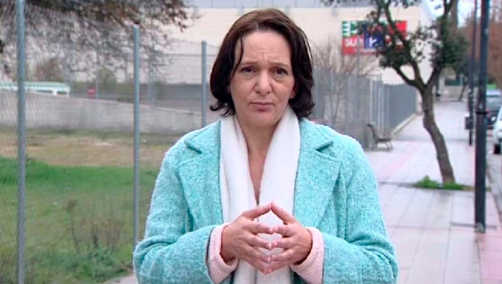 Carolina Bescansa, durante un entrevista en Espejo Público