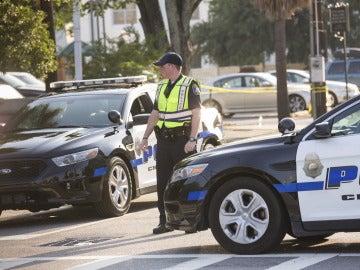 Un agente de Policía en EEUU