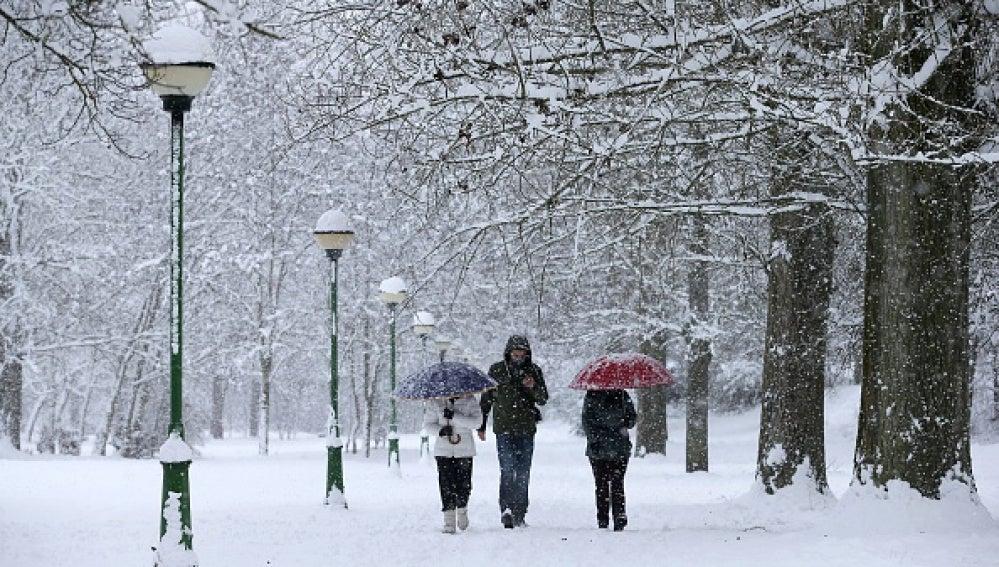 Se mantiene el temporal pero sube la cota de nieve