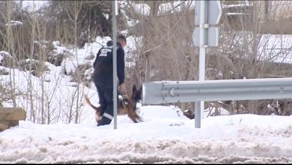 Buscan a tres senderistas perdidos en Castellón en medio de la nevada