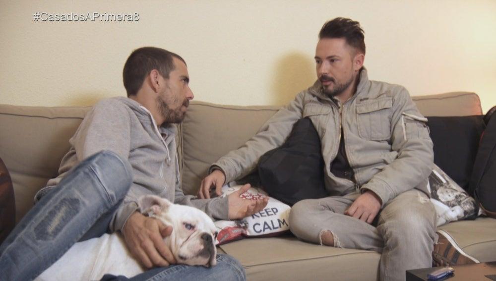 José Ramón y Alberto se reencuentran tras su fuerte discusión
