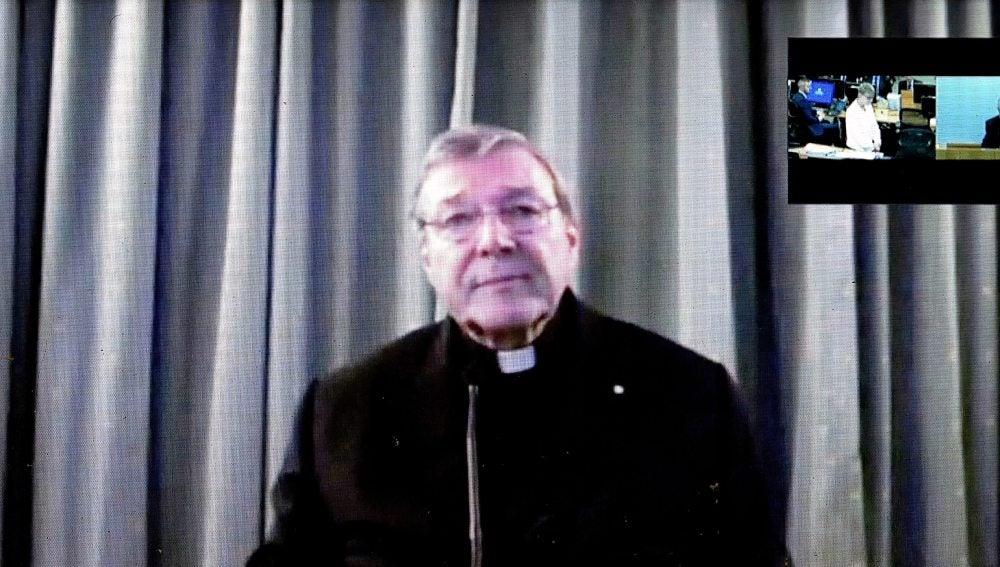El cardenal George Pell, tesorero del Vaticano y el más alto cargo de la Iglesia Católica que ha declarado en un caso de pederastia