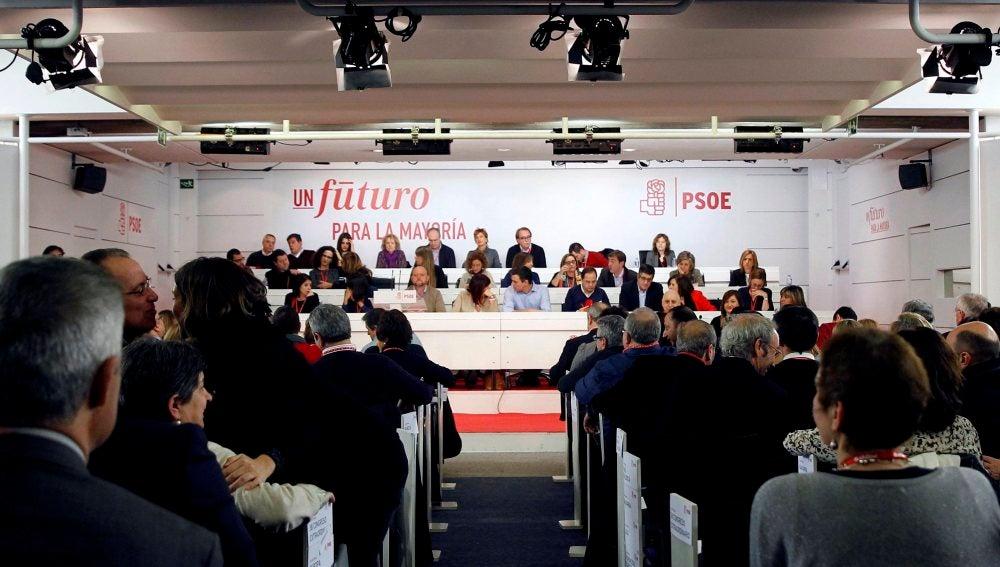 Vista del Comité Federal extraordinario del PSOE