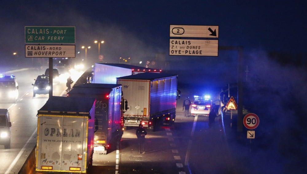 Altercados en Calais