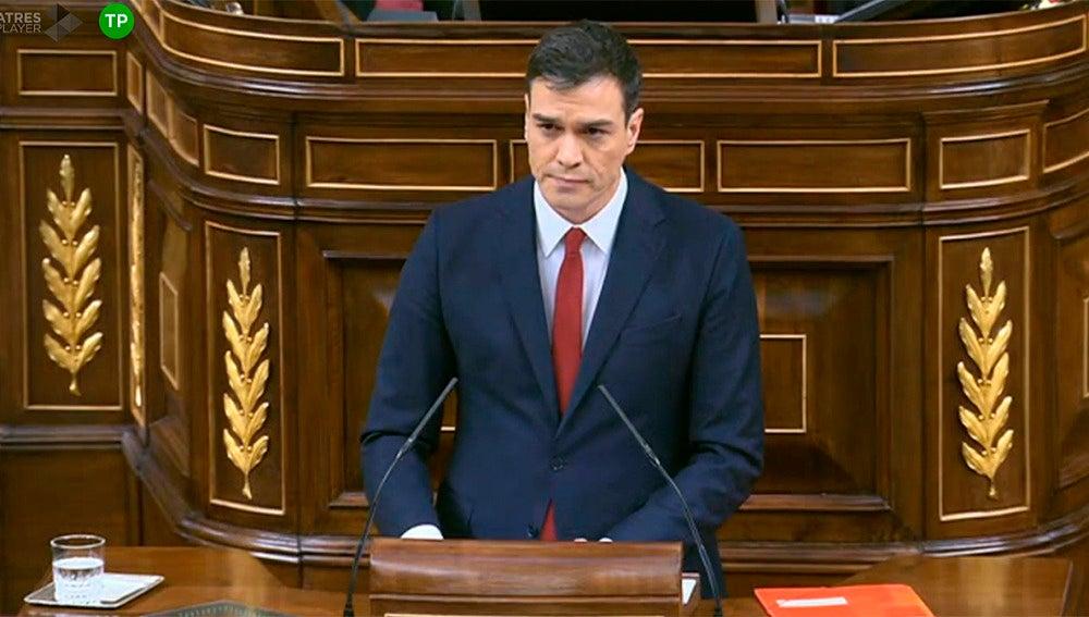 Pedro Sánchez, candidato a la Presidencia del Gobierno