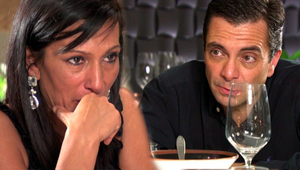 Las copas de cava desatan la gran discusión entre Mónica y Pedro